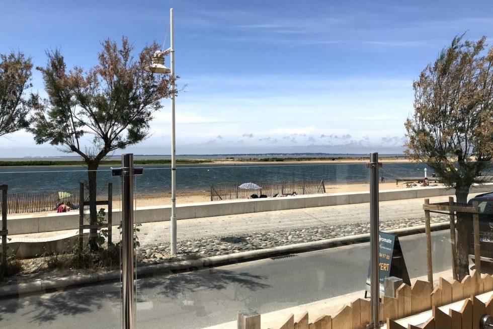 Marennes plage vue de l Aromate