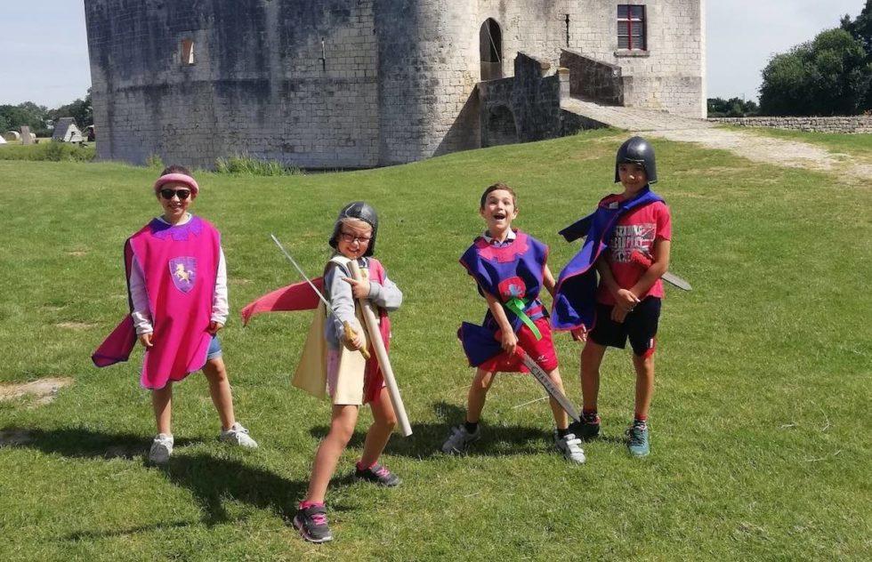 jeux medievaux à Saint Jean d' Angle